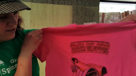 The Zazzle pink shirt wasn't awesome.