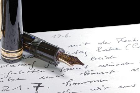 Foundtain pen Public Domain Image
